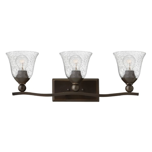 Hinkley Lighting Hinkley Lighting Bolla Olde Bronze Bathroom Light 5893OB-CL