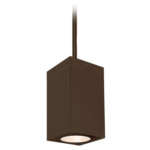 WAC Lighting Wac Lighting Cube Arch Bronze LED Outdoor Hanging Light DC-PD05-N827-BZ