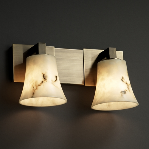 Justice Design Group Justice Design Group Lumenaria Collection Bathroom Light FAL-8922-20-ABRS