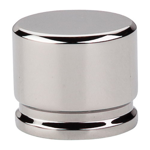 Top Knobs Hardware Modern Cabinet Knob in Polished Nickel Finish TK61PN