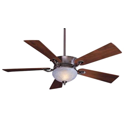 Minka Aire 52-Inch Ceiling Fan with Five Blades and Light Kit F701-PW