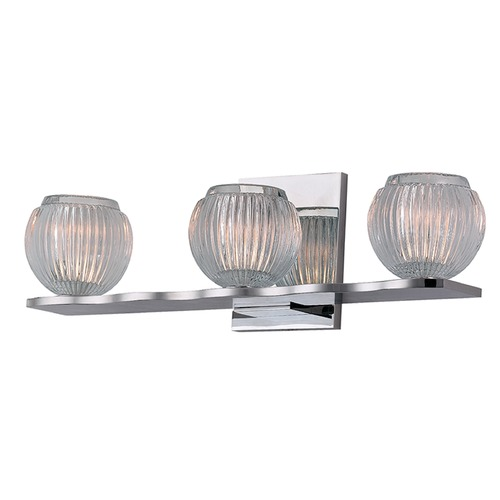 Hudson Valley Lighting Odem 3 Light Bathroom Light - Polished Chrome 3163-PC