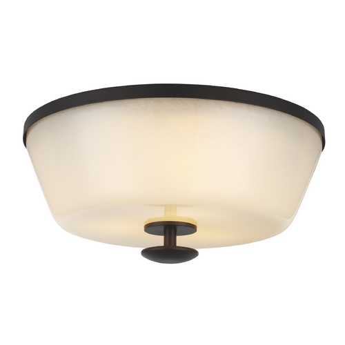 Feiss Lighting Feiss Lighting Huntley Oil Rubbed Bronze Flushmount Light FM395ORB