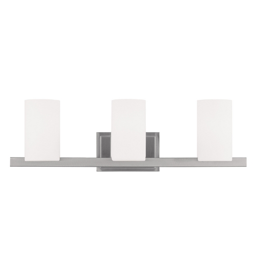 Livex Lighting Livex Lighting Astoria Brushed Nickel Bathroom Light 1333-91