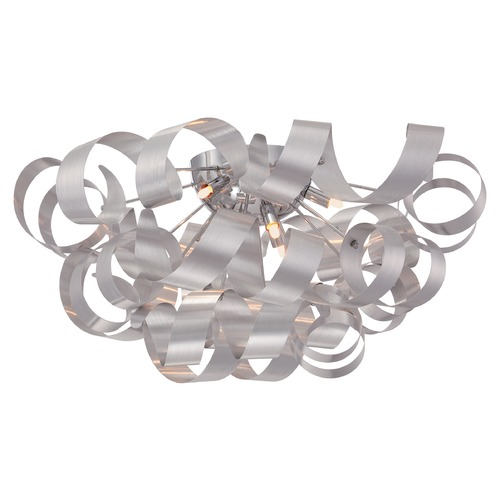 Quoizel Lighting Quoizel Ribbons Millennia Flushmount Light RBN1628MN