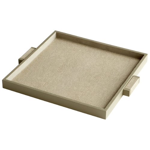 Cyan Design Cyan Design Brooklyn Shagreen Tray 6009