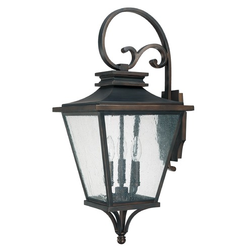 Capital Lighting Capital Lighting Gentry Old Bronze Outdoor Wall Light 9463OB