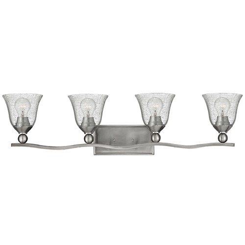 Hinkley Hinkley Bolla Brushed Nickel Bathroom Light 5894BN-CL
