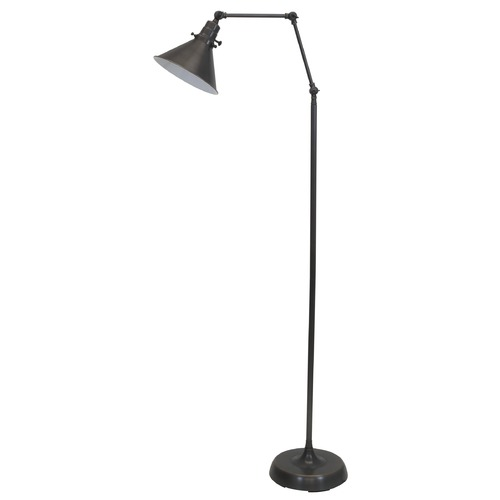 House of Troy Lighting House Of Troy Otis Oil Rubbed Bronze Floor Lamp with Conical Shade OT600-OB-MS