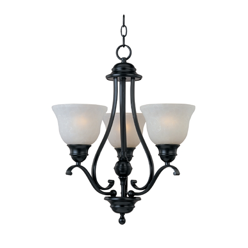 Maxim Lighting Maxim Lighting Linda Black Mini-Chandelier 11804ICBK