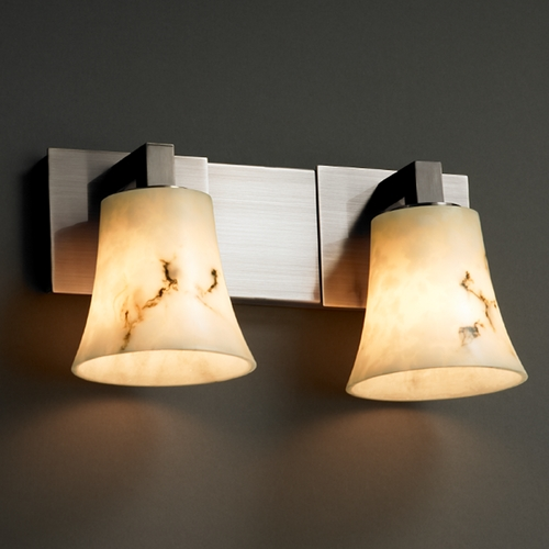 Justice Design Group Justice Design Group Lumenaria Collection Bathroom Light FAL-8922-20-NCKL
