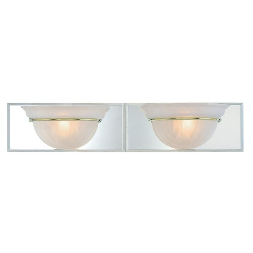 Dolan Designs Lighting Two-Light Bathroom Light 442-24