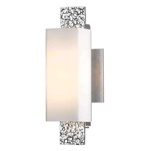 Hubbardton Forge Lighting Hubbardton Forge Lighting Oceanus Vintage Platinum Sconce 207693-82-G441