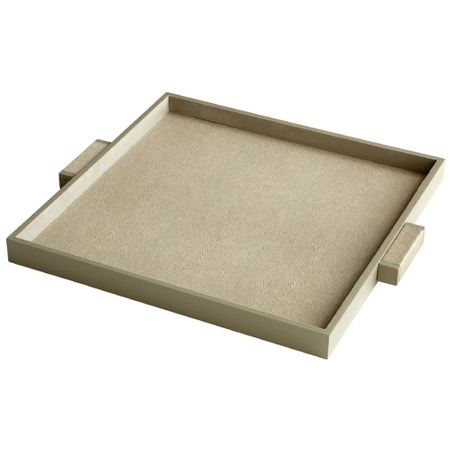Cyan Design Cyan Design Brooklyn Shagreen Tray 6010