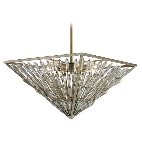Elk Lighting Elk Lighting Viva Natura Aged Silver Pendant Light 31771/6