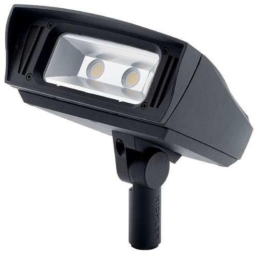 Kichler Lighting Kichler Lighting Landscape LED Textured Black LED Flood - Spot Light 16224BKT30