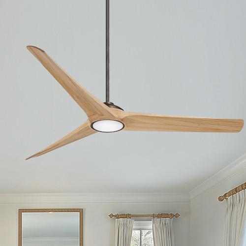 Minka Aire Minka Aire Timber Heirloom Bronze LED Ceiling Fan with Light F847L-HBZ/MP