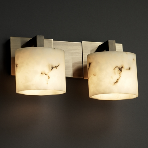 Justice Design Group Justice Design Group Lumenaria Collection Bathroom Light FAL-8922-30-ABRS