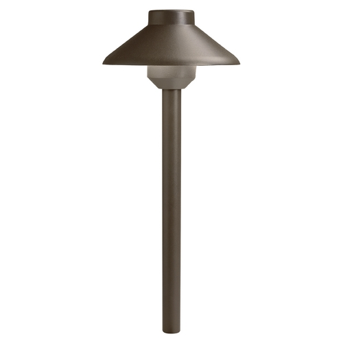Kichler Lighting Kichler LED Path Light in Textured Architectural Bronze Finish 15820AZT