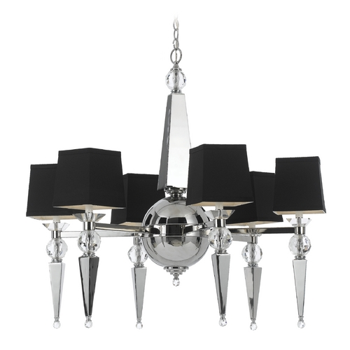 AF Lighting Clark Chandelier 8405-6H