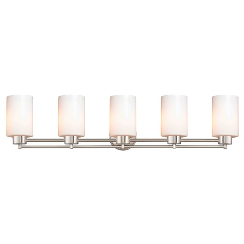 Design Classics Lighting Design Classics Salida Fuse Satin Nickel Bathroom Light 706-09 GL1024C