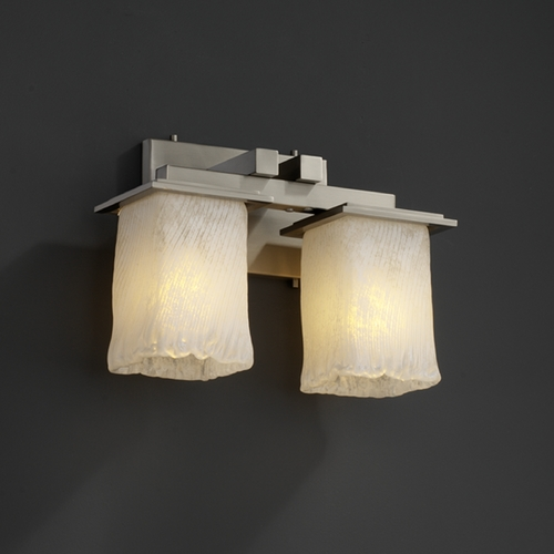 Justice Design Group Justice Design Group Veneto Luce Collection Bathroom Light GLA-8672-26-CLRT-CROM