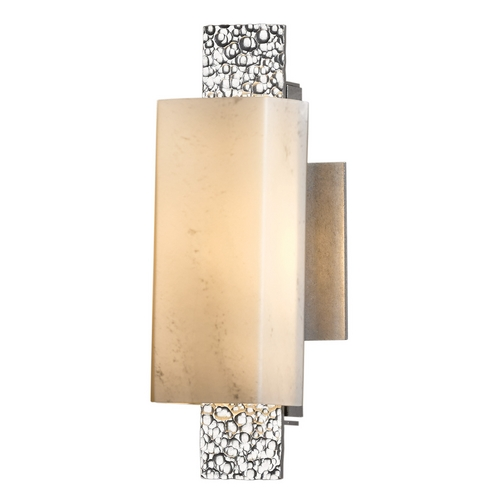 Hubbardton Forge Lighting Hubbardton Forge Lighting Oceanus Vintage Platinum Sconce 207693-SKT-82-HH0441