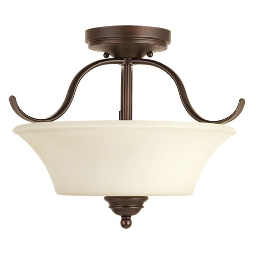 Progress Lighting Progress Lighting Applause Antique Bronze Semi-Flushmount Light P3507-20
