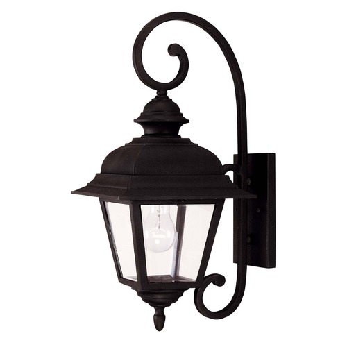 Savoy House Savoy House Textured Black Outdoor Wall Light 5-1601-BK