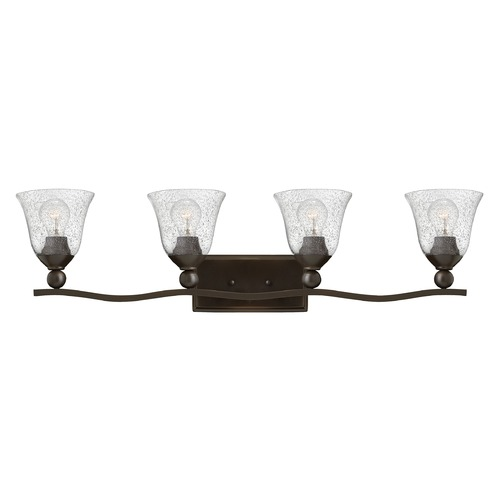 Hinkley Lighting Hinkley Lighting Bolla Olde Bronze Bathroom Light 5894OB-CL