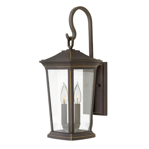 Hinkley Lighting Hinkley Lighting Bromley Oil Rubbed Bronze Outdoor Wall Light 2364OZ