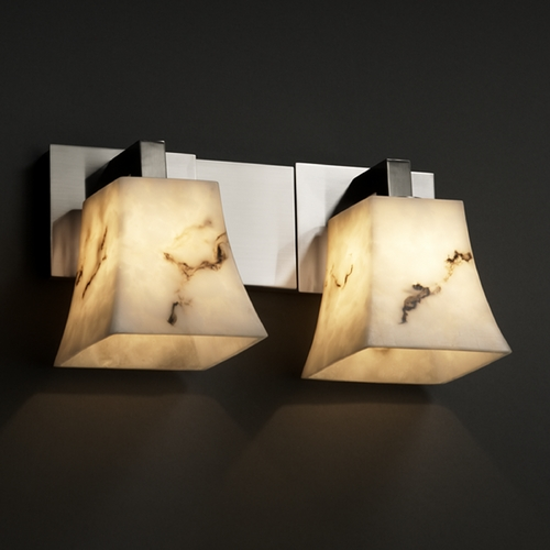 Justice Design Group Justice Design Group Lumenaria Collection Bathroom Light FAL-8922-40-NCKL
