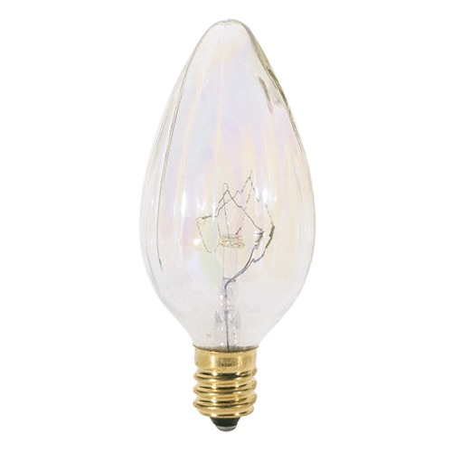 Satco Lighting Incandescent F10 Light Bulb Candelabra Base 120V Dimmable by Satco S2773