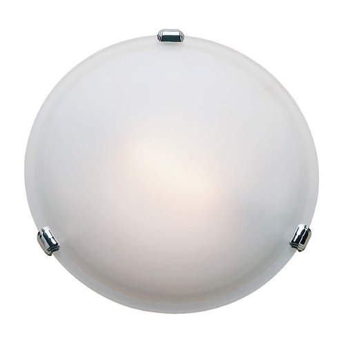 Access Lighting Access Lighting Nimbus Satin Nickel Flushmount Light C50049SATFSTEN1313BS