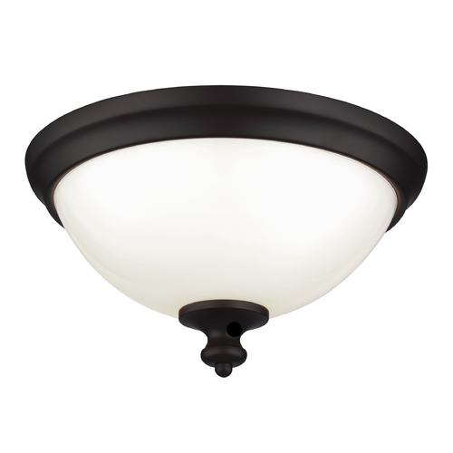 Feiss Lighting Feiss Lighting Parkman Oil Rubbed Bronze Flushmount Light FM397ORB