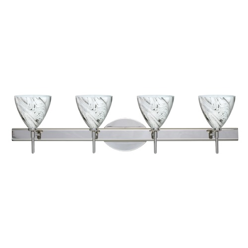 Besa Lighting Besa Lighting Mia Chrome Bathroom Light 4SW-1779MG-CR