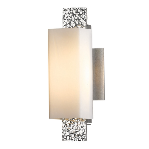 Hubbardton Forge Lighting Hubbardton Forge Lighting Oceanus Vintage Platinum Sconce 207693-82-ZX441