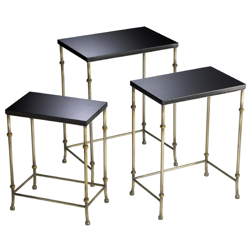 Cyan Design Cyan Design Sanders Antique Flemish & Black Table 04265