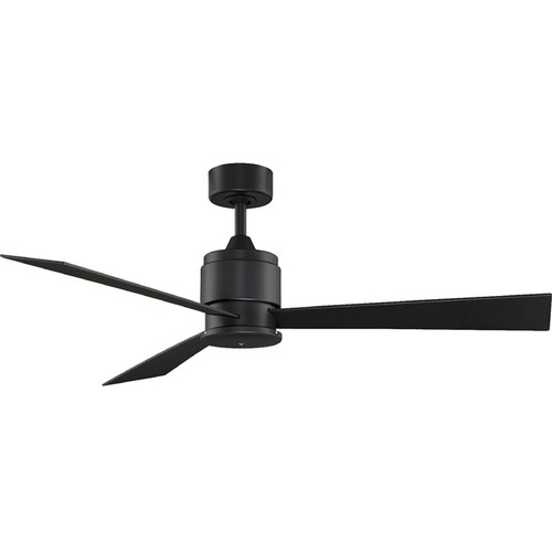 Fanimation Fans Fanimation Fans Zonix Black Ceiling Fan Without Light FP4620BL