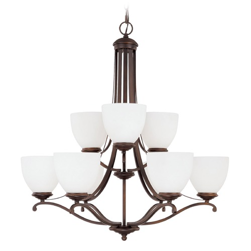 Capital Lighting Capital Lighting Chapman Burnished Bronze Chandelier 3949BB-202