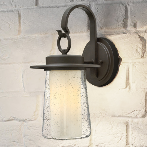 Hinkley Hinkley Riley Oil Rubbed Bronze LED Outdoor Wall Light 2010OZ-LED