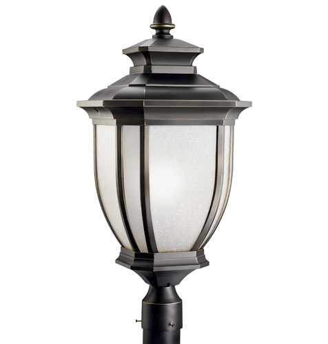 Kichler Lighting Kichler Oversize Outdoor Post Light 9940RZ