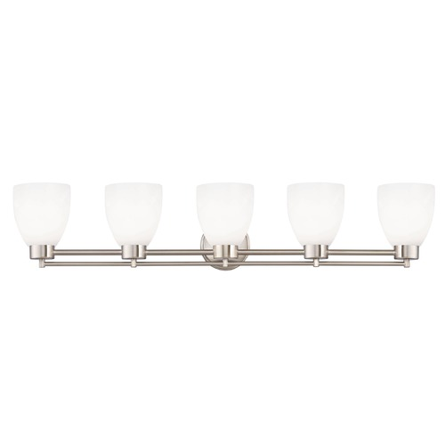 Design Classics Lighting Satin Nickel Bathroom Light 706-09 GL1024MB