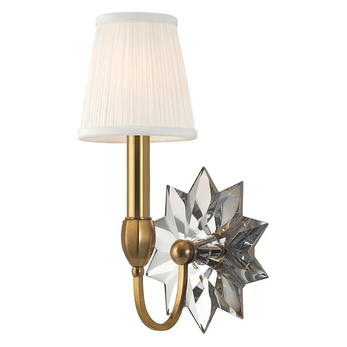 Hudson Valley Lighting Barton 1 Light Sconce - Aged Brass 3211-AGB