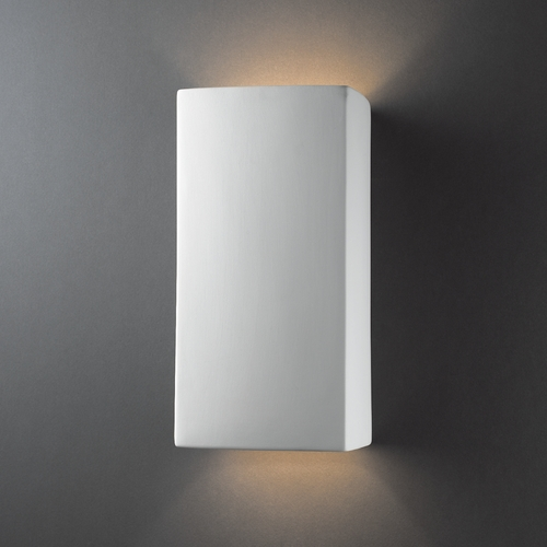 Justice Design Group Outdoor Wall Light in Bisque Finish CER-0955W-BIS