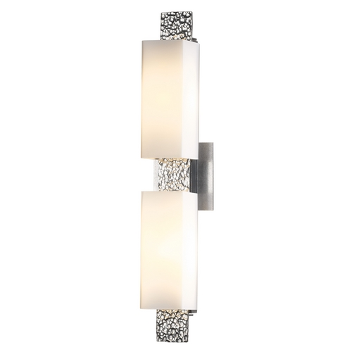 Hubbardton Forge Lighting Oceanus Vintage Platinum Bathroom Light - Vertical or Horizontal Mounting 207695-82-G441