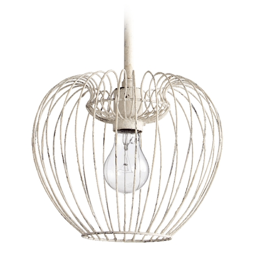 Quorum Lighting Quorum Lighting Persian White Mini-Pendant Light 6776-1-70