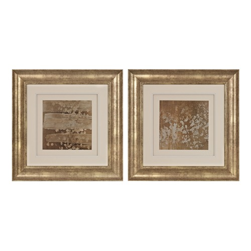Sterling Lighting Golden Rule Shadow Box I, II - Limited Edition Print Under Glass 151-014/S2