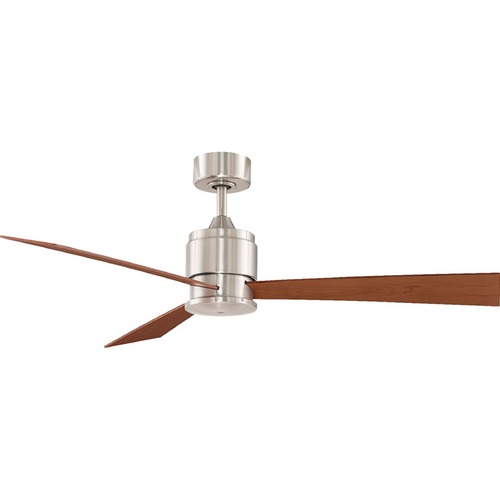 Fanimation Fans Fanimation Fans Zonix Brushed Nickel Ceiling Fan Without Light FP4620BN