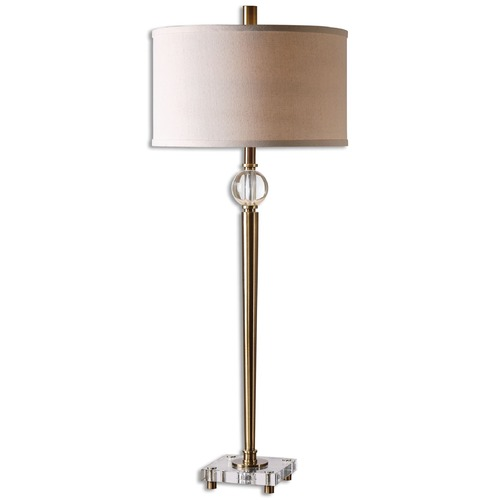 Uttermost Lighting Uttermost Mesita Brass Buffet Lamp 26959-1
